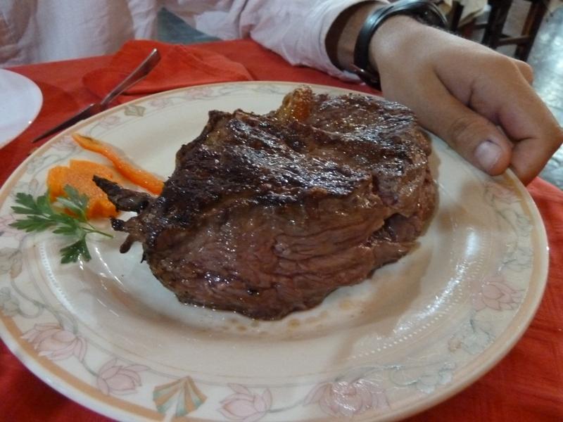 Bife de Chorizo, El Tata,  Puerto Iguazu, Argentine