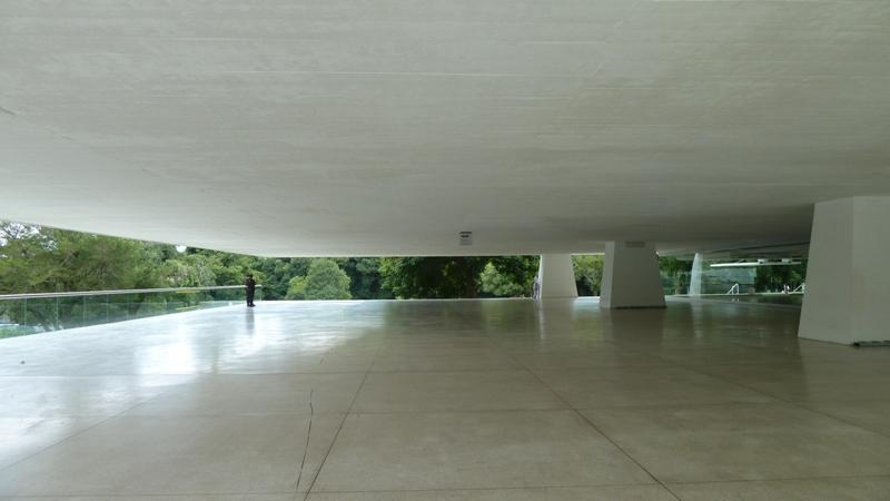 Musee Oscar Niemeyer, Curitiba, Bresil