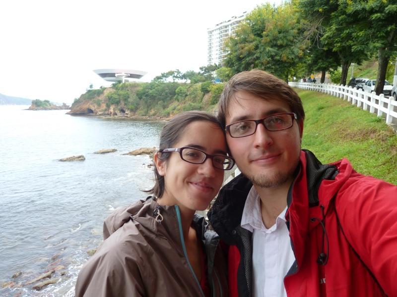 Romane et Remi a Niteroi