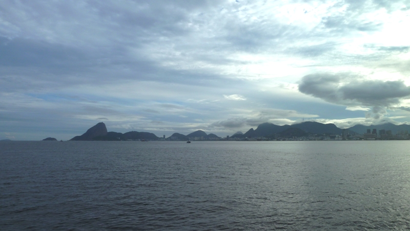 Rio vu du ferry pour Niteroi