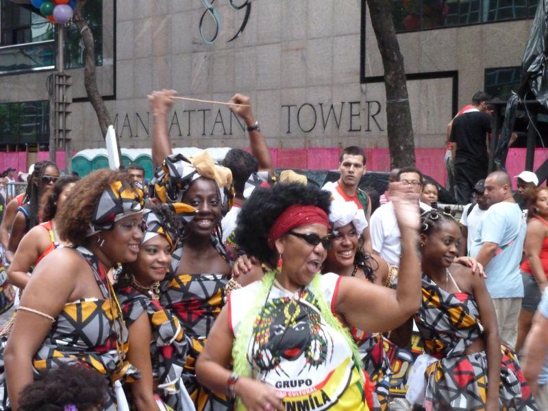 Carnaval de Rio 2011, av. Rio Branco
