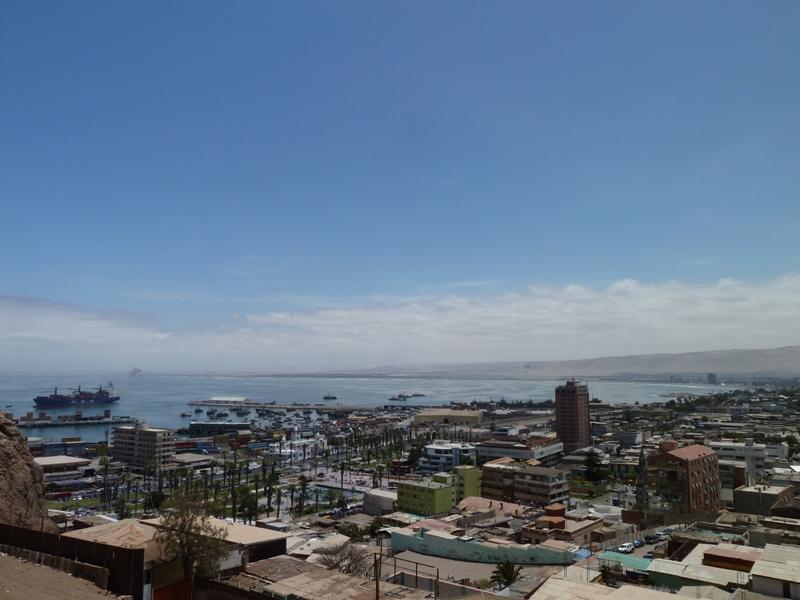 Vue du Morro, Arica, Chili