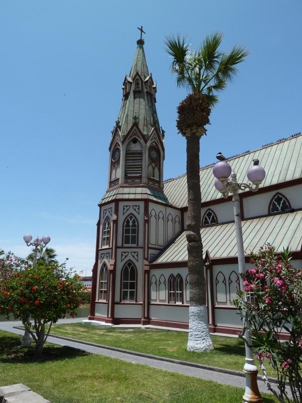 Cathédrale de fer, Arica, Chili