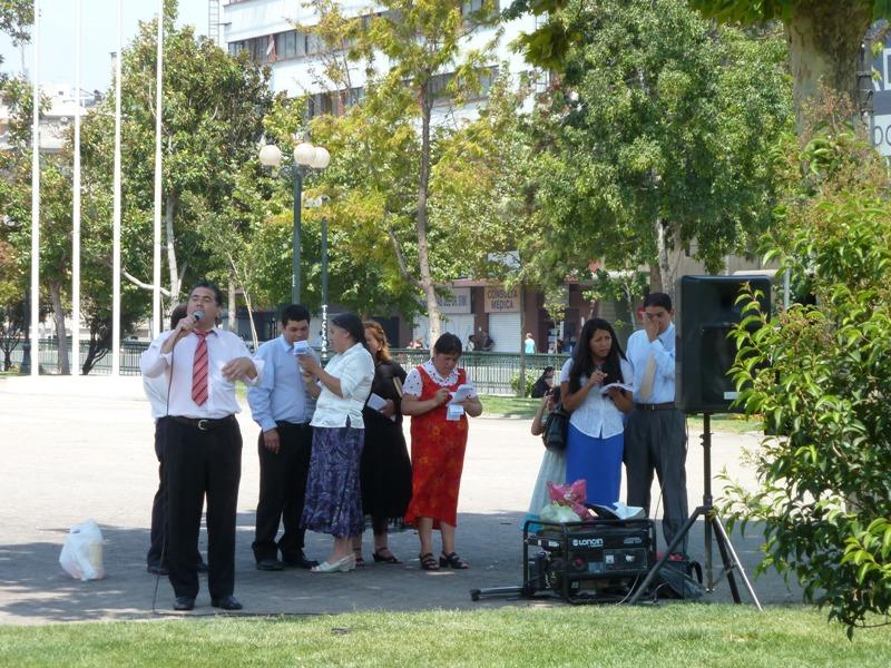 Prêcheurs évangélistes, Santiago, Chili