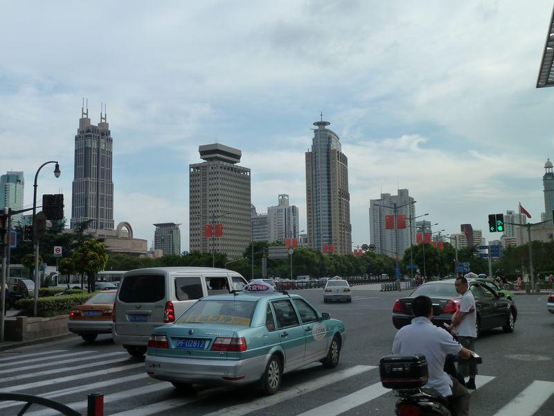 Centre ville, Shanghai, Chine