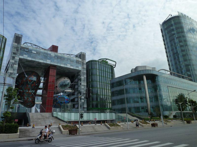 Au nord du Bund, Shanghai, Chine