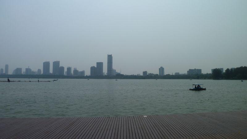 Lac, Nanjing, Chine