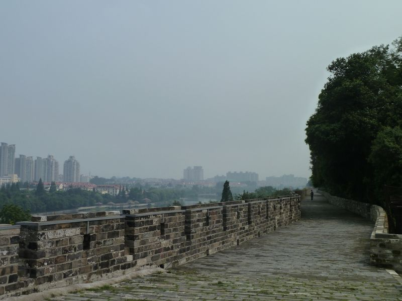 Remparts, Nanjing, Chine