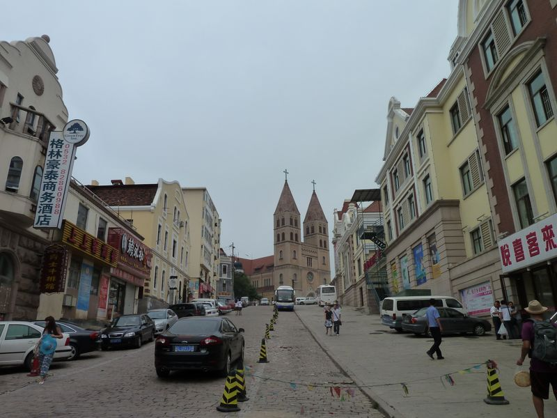 Catholic church, Qingdao, China