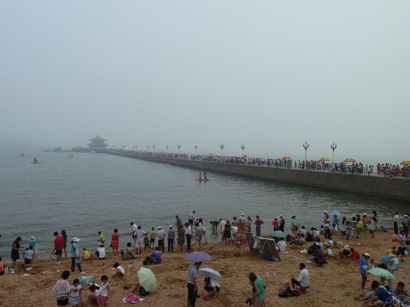 Plage de Qingdao, Chine