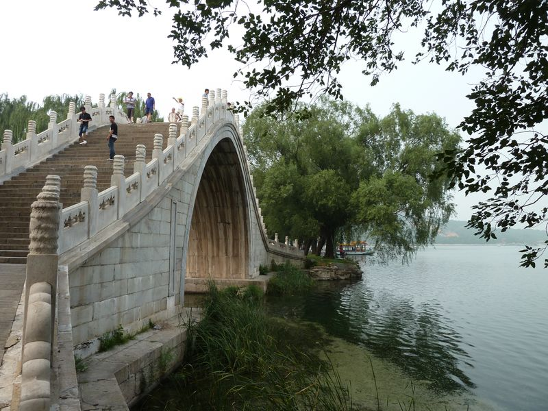 Bridge at the summer Palace, Beijing, China