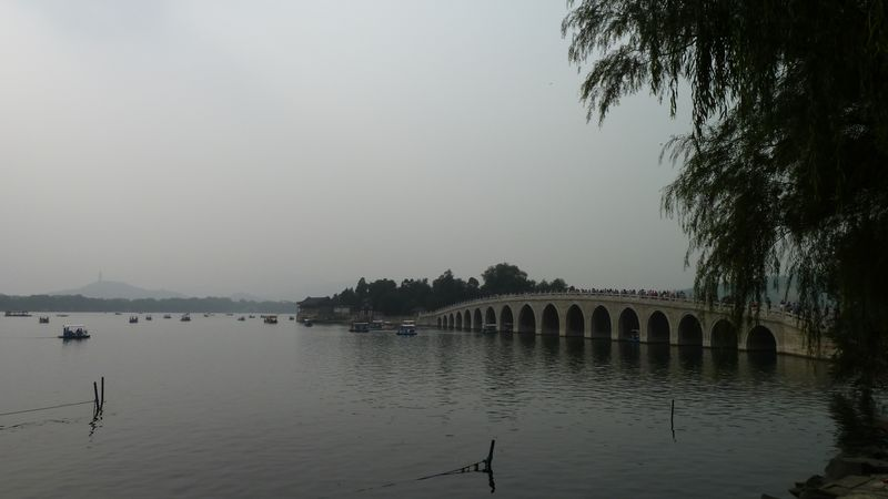 17 pillars bridge, Summer Palace, beijing, China