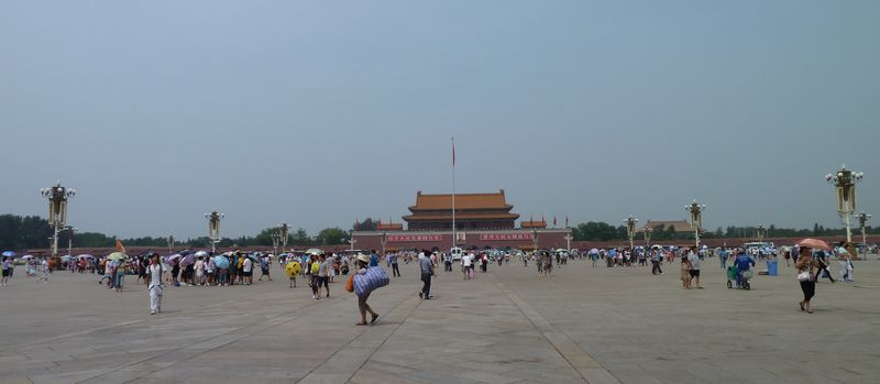 Tiananmen Place, Beijing, China