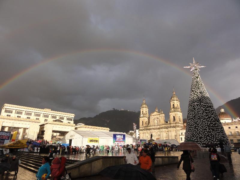 Place centrale Bogota