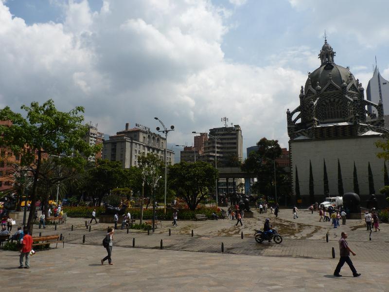 Parque Berrio, Medellin