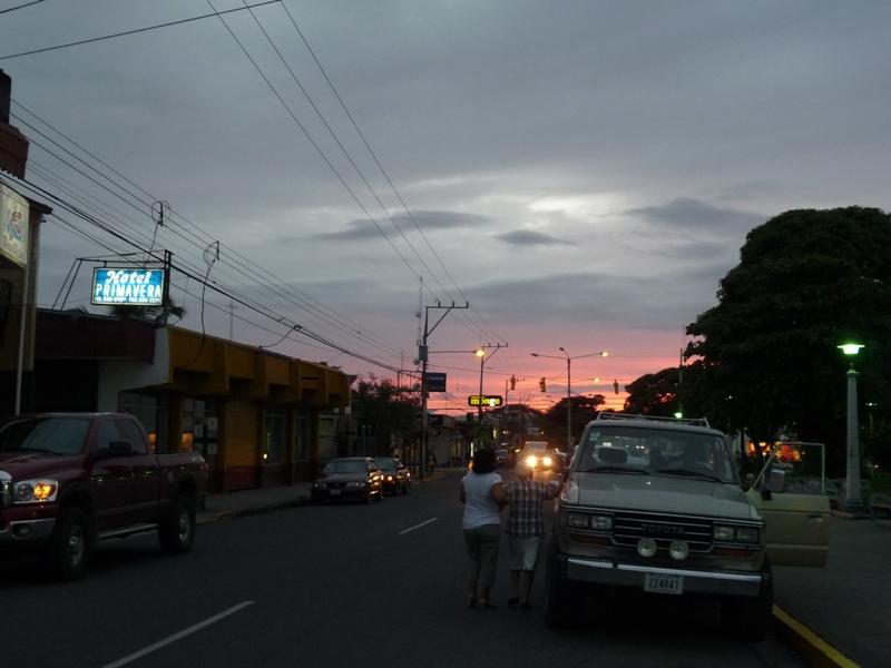 Rue principale de Liberia