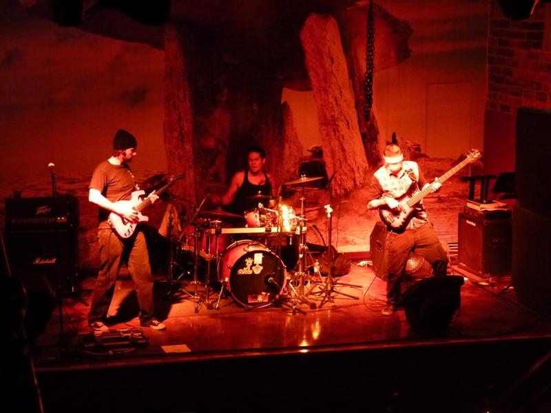 Concert de rock au cafe Republica San Salvador