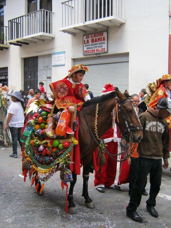 Défilé de noël à Cuenca -2