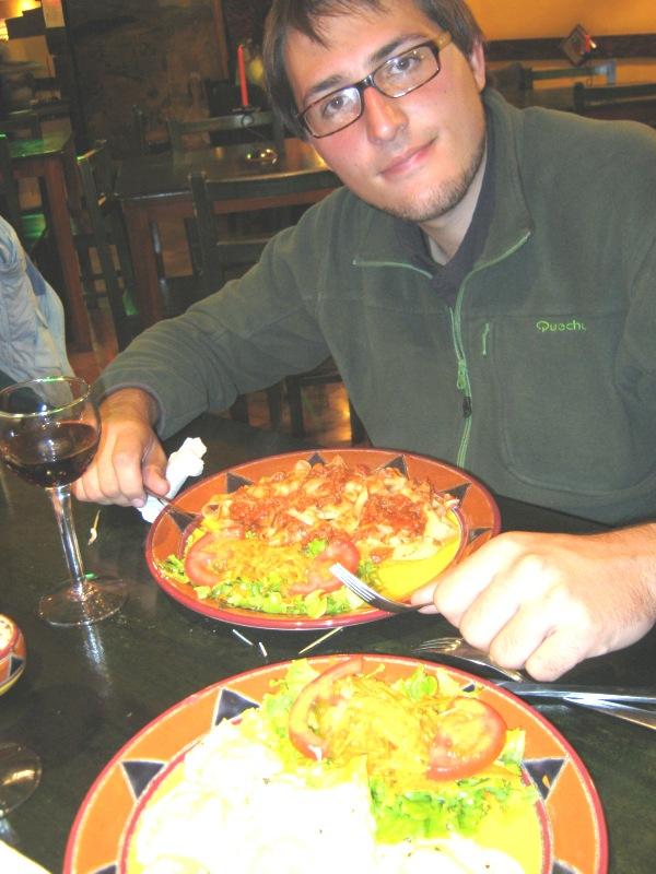 Repas de noel italien