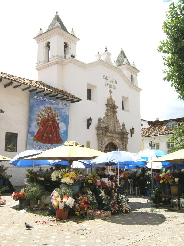 Marché aux fleurs de Cuenca