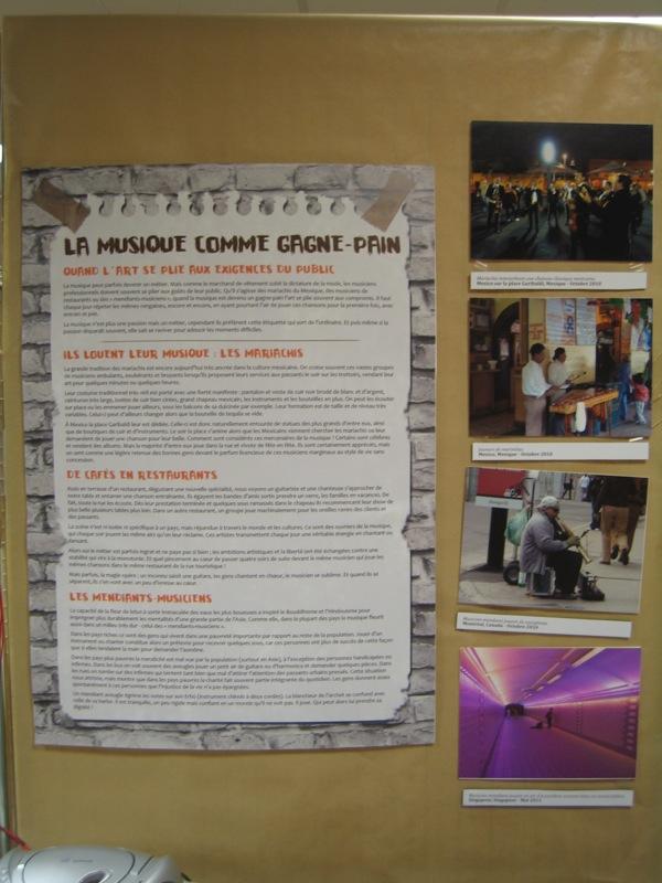 Panneau, Exposition La Rue Vibre !