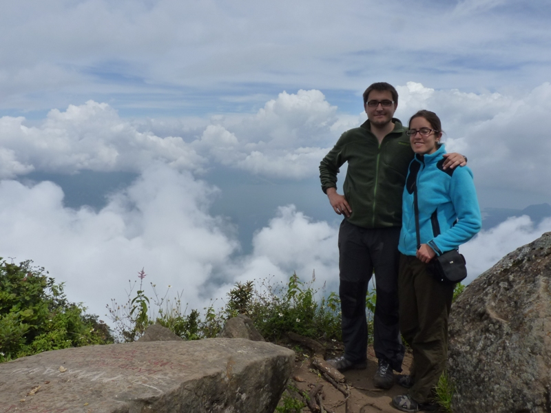 Au sommet du volcan San Pedro