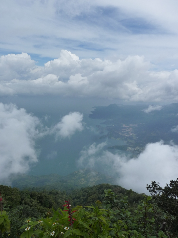 Vue du sommet du volcan San Pedro