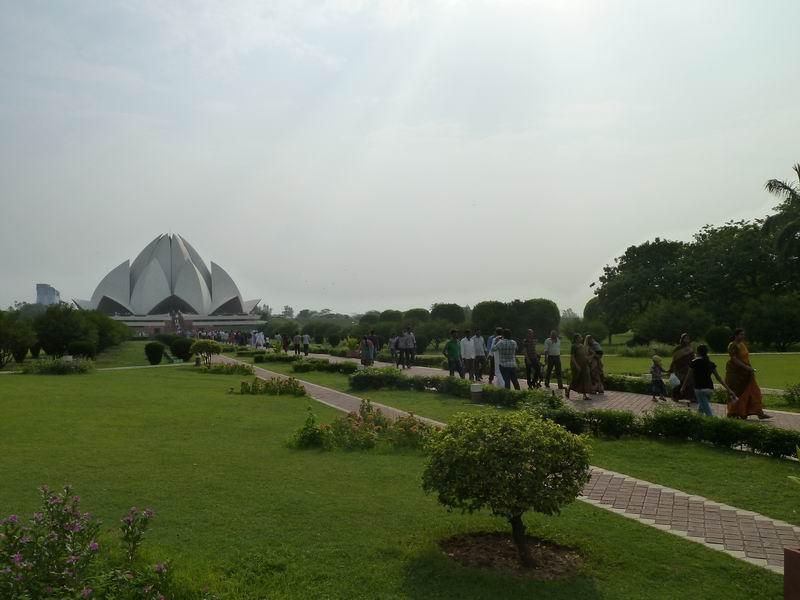 Lotus Temple, Delhi, Inde