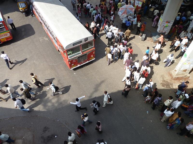 a street of Mumbai