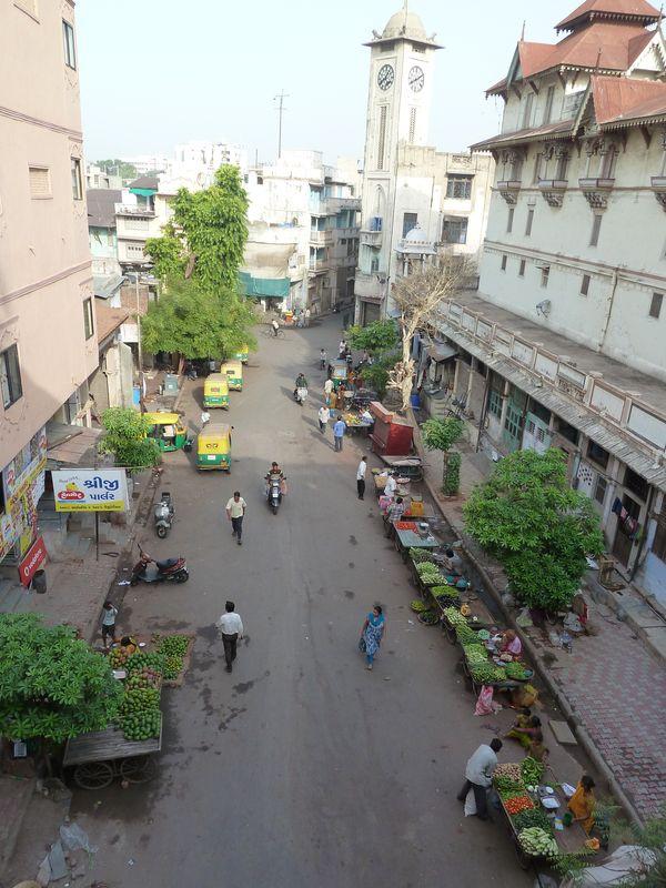 Street of Ahmedabad, India