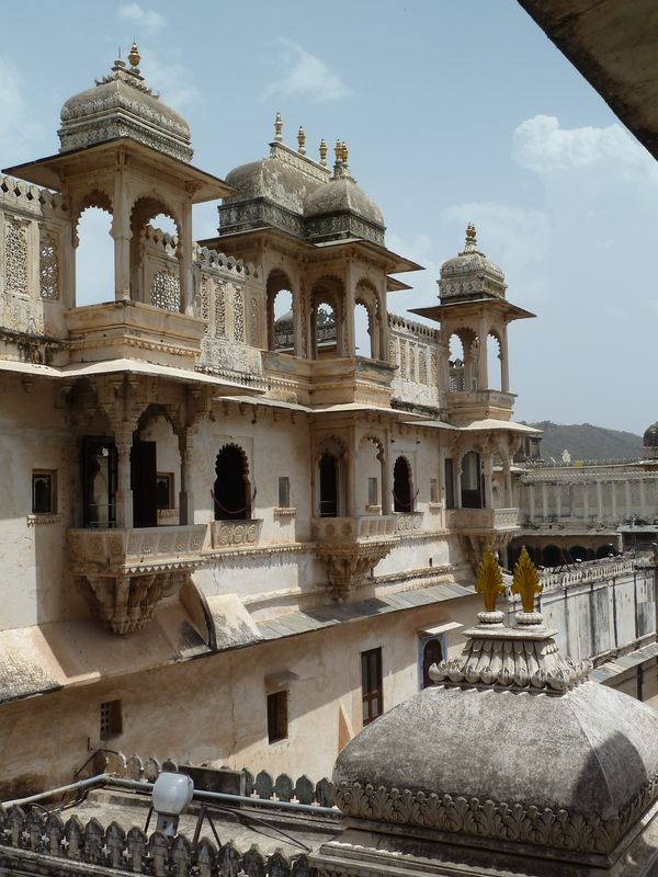 City Palace, Udaipur, Inde