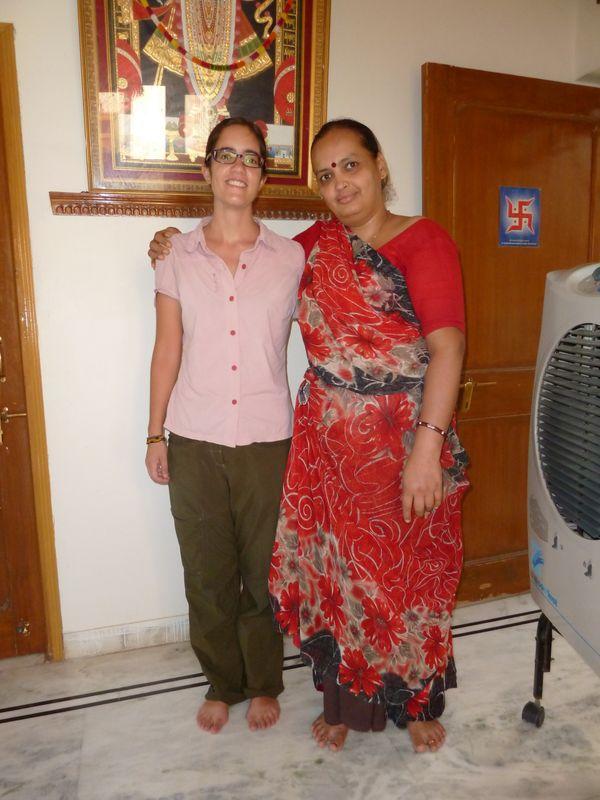 Romane and Nirmala, Udaipur, Inde