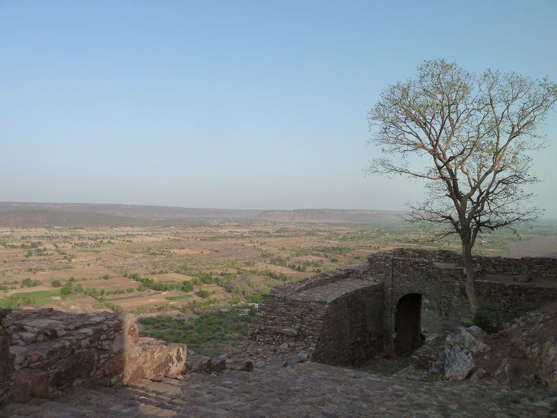 Chittorgarh fortress, India