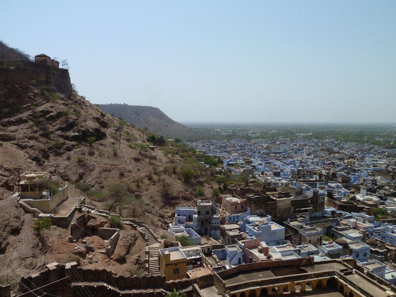 View from Garh Palace, Bundi, India