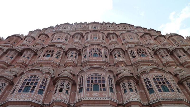 Palais des vents, Jaipur, Inde