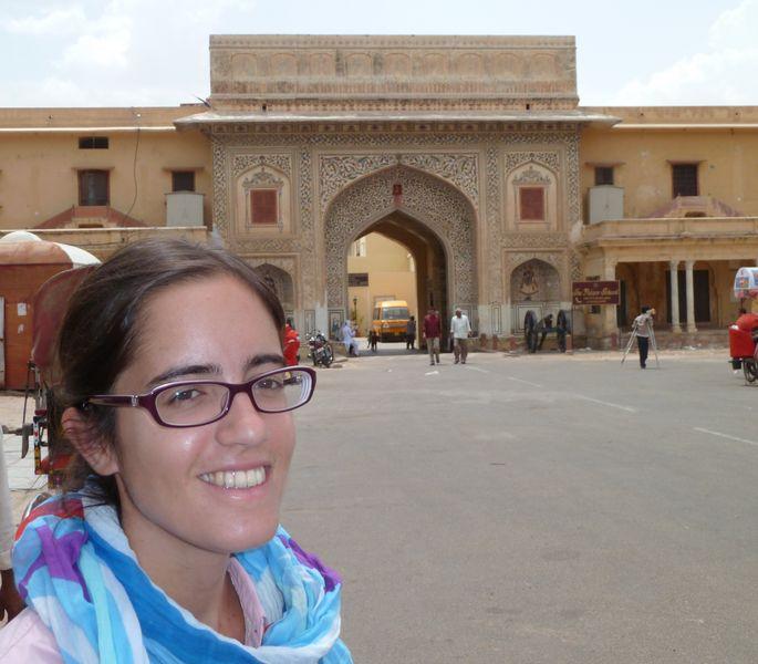 Porte du City Palace, Jaipur, Inde