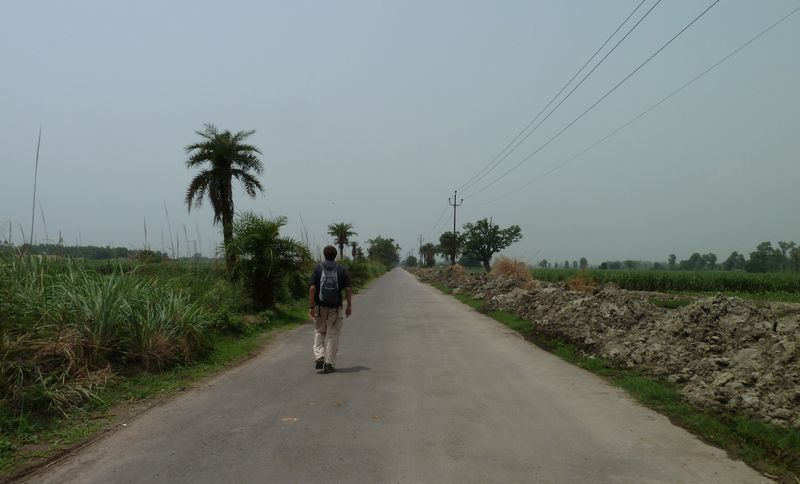 On the road to Sardhana, India