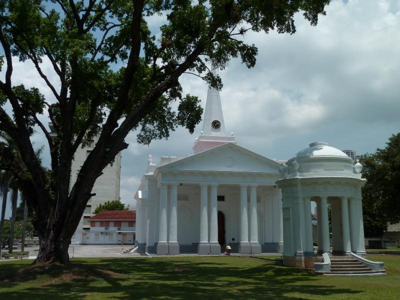 Eglise anglicane, Georgetown, Malaisie