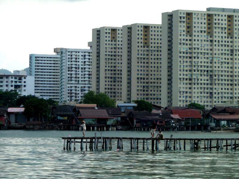 jetty clan, Georgetown, Malaisie