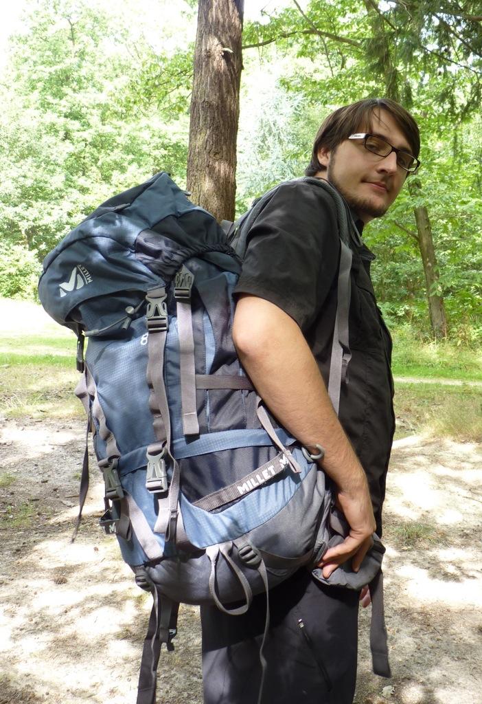 Rémi et son sac
