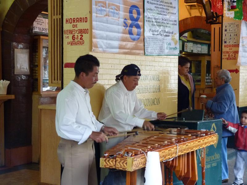Joueurs de Marimbas