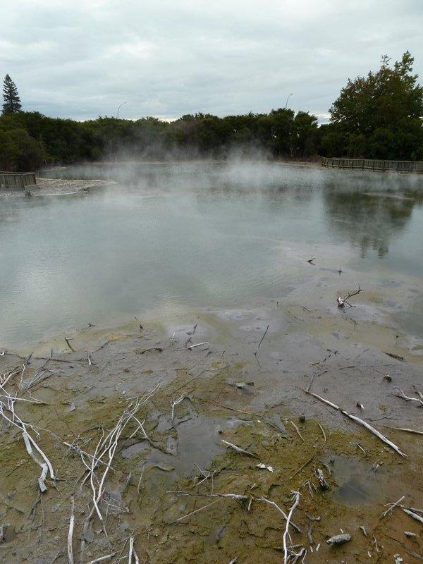 Kuirau Park, Rotorua, Nouvelle-Zélande