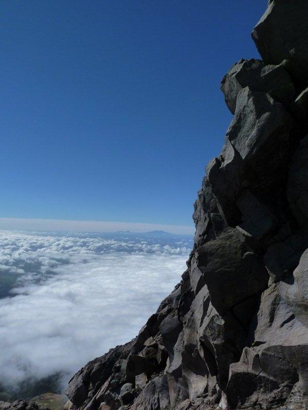 View from the Mount Taranaki, New-Zealand