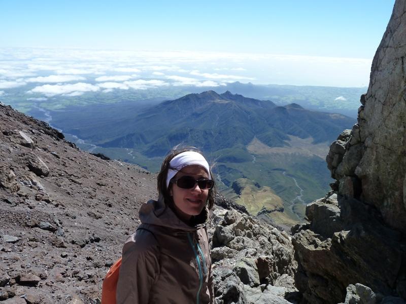 On the Mount Taranaki, New-Zealand