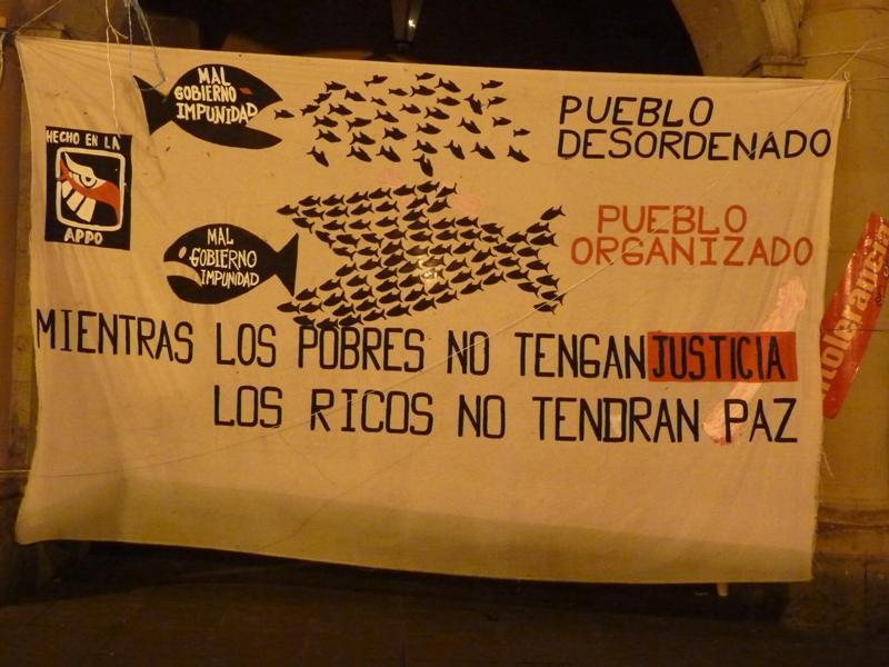 Affiche sur les mursd de San Cristobal