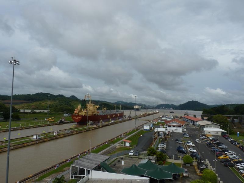 écluses de Miraflores, canal de Panama
