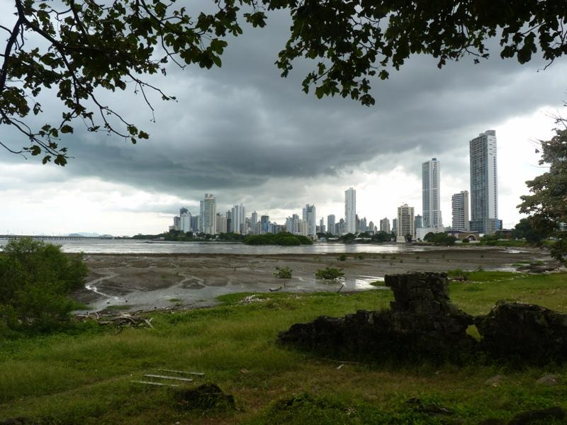 Vue de Panama Viejo