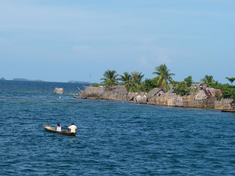 Ile de Carti et pêcheurs