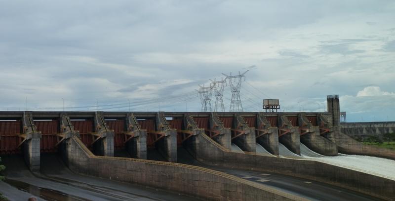Hydroélectrique Itaipu binacional, Paraguay