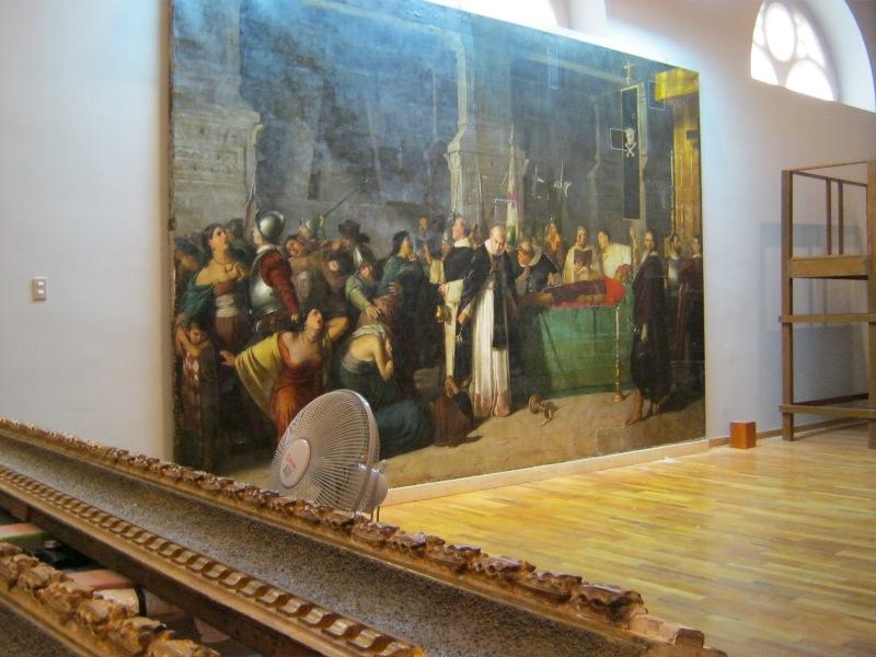 La mort d'Atahualpa au MALI